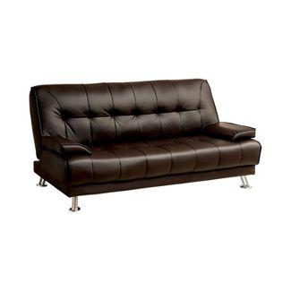 Solange Futon Sofa Toasted Brown - miBasics