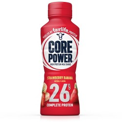 Core Power Strawberry Banana Protein Drink - 14 fl oz Bottle