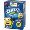 Nabisco Minions Mini Oreo Cookies Limited Edition Cookies - 12ct - image 3 of 4