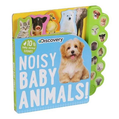 Discovery: Noisy Baby Animals! - (10-Button Sound Books)by Thea Feldman (Board Book)