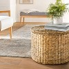 Woven Storage Ottoman Natural - Threshold™ designed with Studio McGee - image 2 of 4
