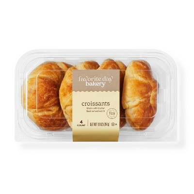 Butter Croissants - 10oz/4ct - Favorite Day™