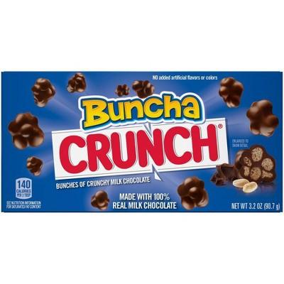 Crunch Buncha Crunch Milk Chocolate Candy - 3.2oz