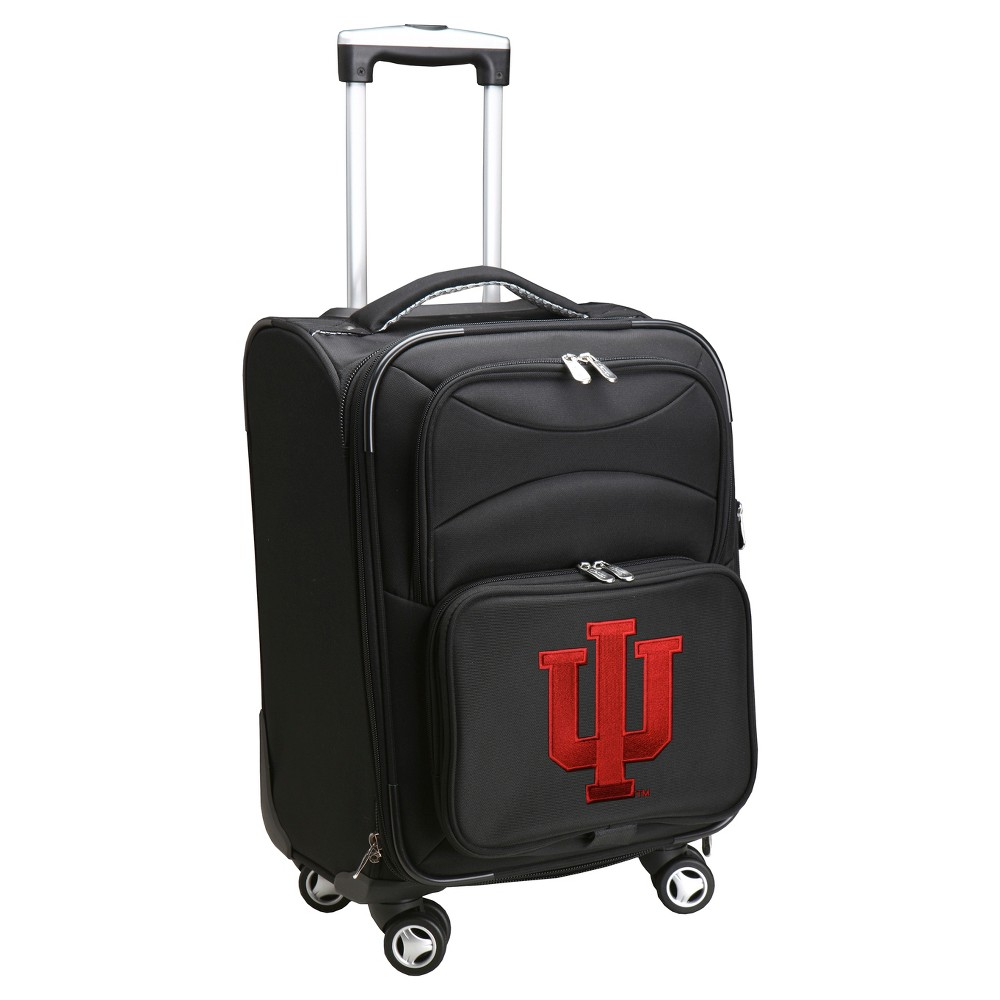 NCAA Indiana Hoosiers Spinner Carry On Suitcase