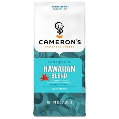 Cameron's Kona Blend Light Roast Ground Coffee - 12oz