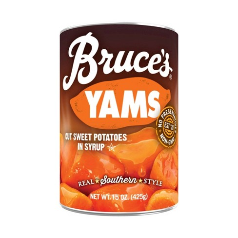 Bruce's Yams Cut Sweet Potatoes in Syrup - 15oz - image 1 of 3