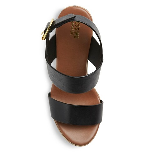 68ecad921d9 Women s Tracey Ankle Strap Sandals - Black 6.5. Shop all Mossimo Supply Co.