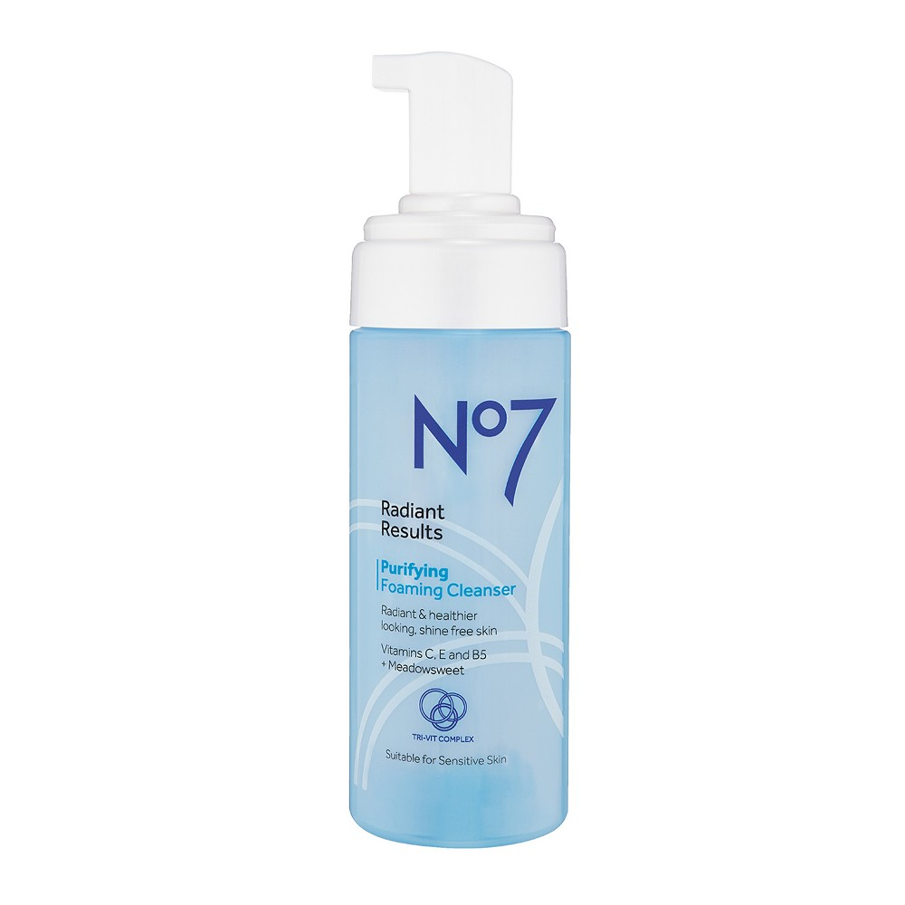 EAN 5000167255249 product image for No7 Radiant Results Purifying Foaming Cleanser - 5oz | upcitemdb.com