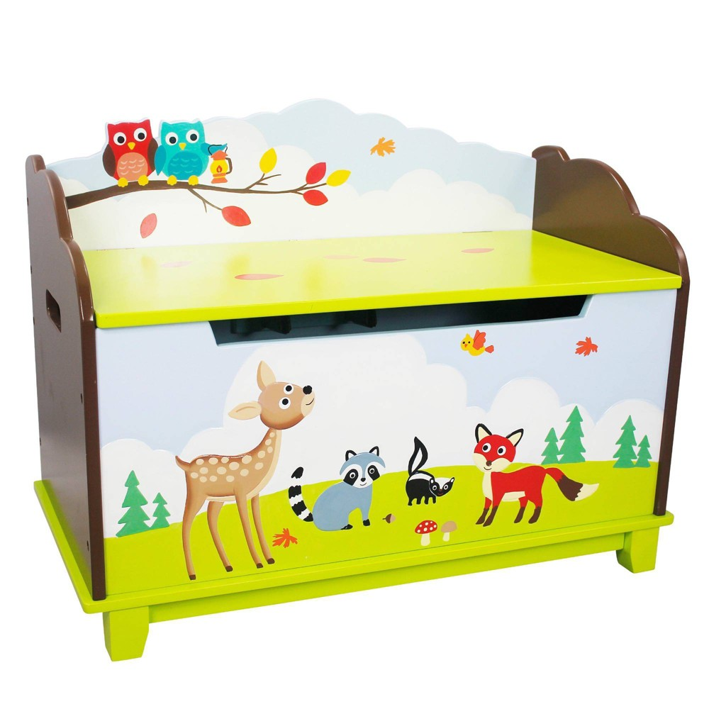 Image of Enchanted Woodland Fantasy Fields Toy Chest - Teamson Kids