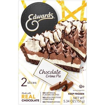 Edwards Frozen Chocolate Creme Pie Slices - 5.34oz/2ct