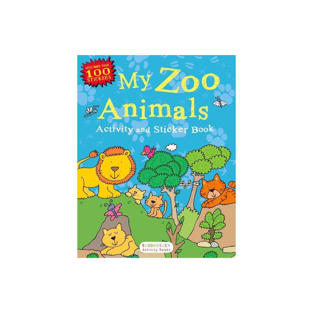 My Zoo Animals Activity And Sticker Book Activity Books Paperback