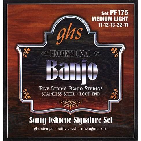 GHS Sonny Osborne Signature Banjo Strings Medium Light - image 1 of 1