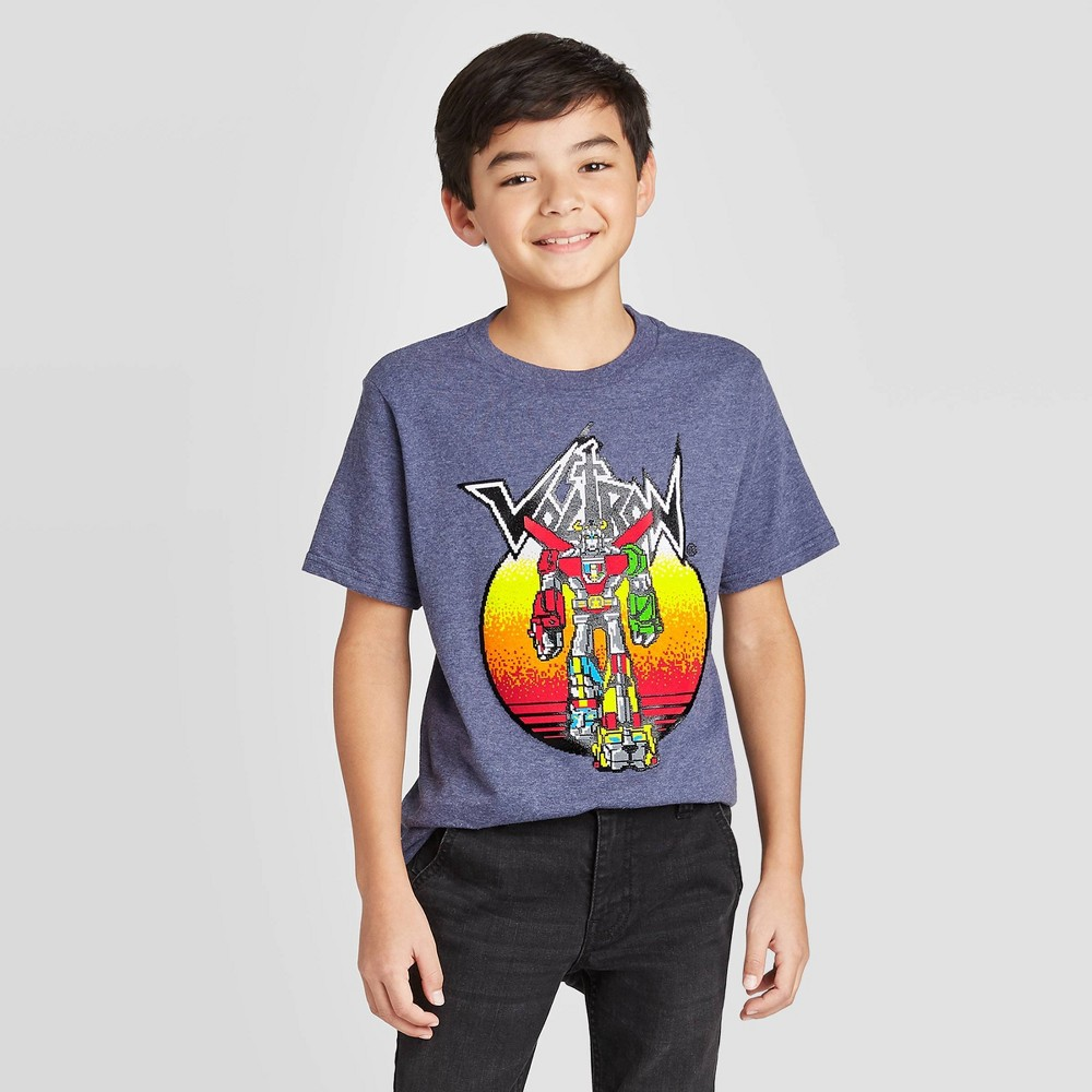 Image of Boys' Voltron T-Shirt - Blue, Boy's, Size: Small