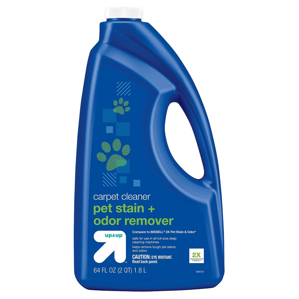Image of Carpet Cleaning Formula- Pet Stain + Odor Remover (6181T) - Up&Up