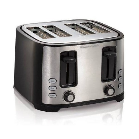Hamilton Beach 4-Slice Toaster - Black - image 1 of 3