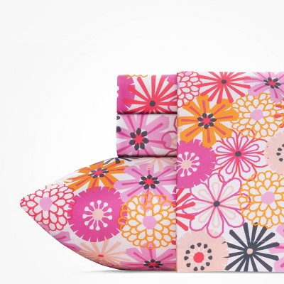 Queen The Bloom Room Sheet Set Pink - Highlights