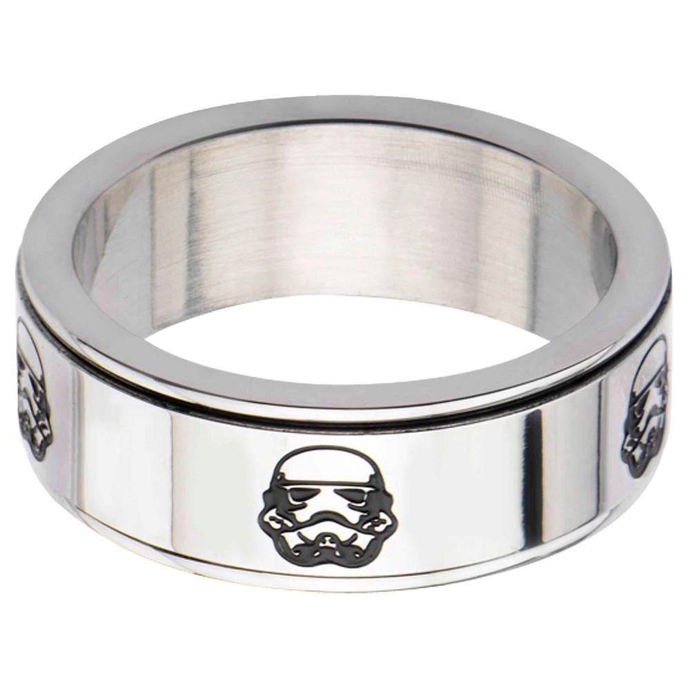 Men S Star Wars Stormtrooper Stainless Steel Spinner Ring 12
