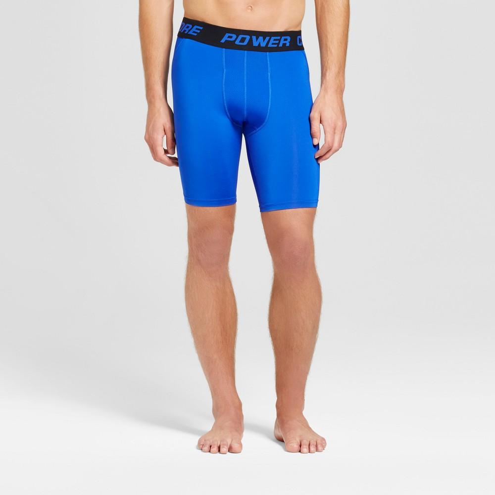 Men's 9 Compression Shorts - C9 Champion Bright Blue S