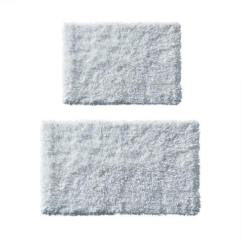 2pc Clout Organic Cotton Bath Rug Set