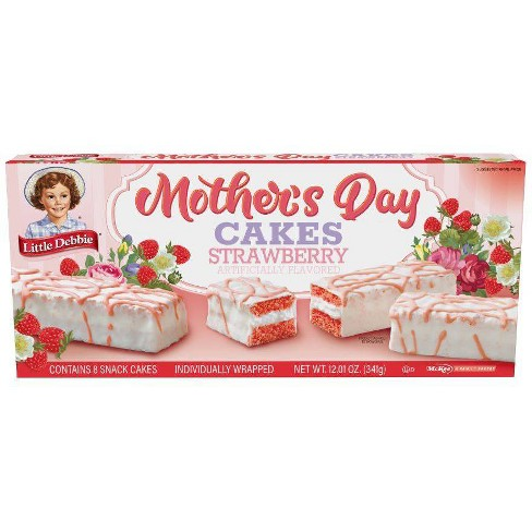 Little Debbie Mother's Day Cakes strawberry - 12.01oz - image 1 of 1
