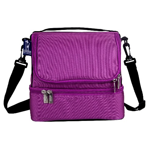 Wildkin Orchid Double Decker Lunch Bag - image 1 of 1