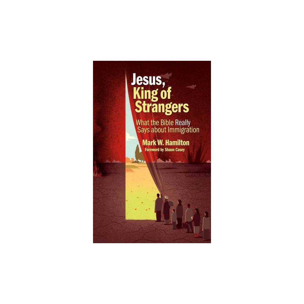 Jesus, King of Strangers : What the Bible Really Says About Immigration - (Paperback)