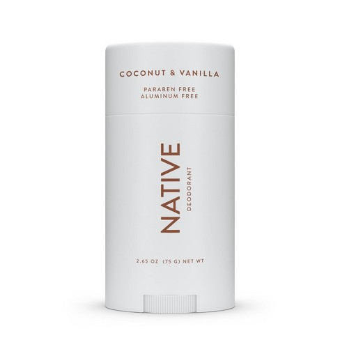Native Coconut & Vanilla Deodorant - 2.65oz : Target