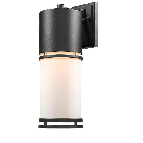 "Z-Lite 560B-BK-LED Luminata Single Light 17-5/8"" High Integrated LED Outdoor Wall Sconce - image 1 of 1"