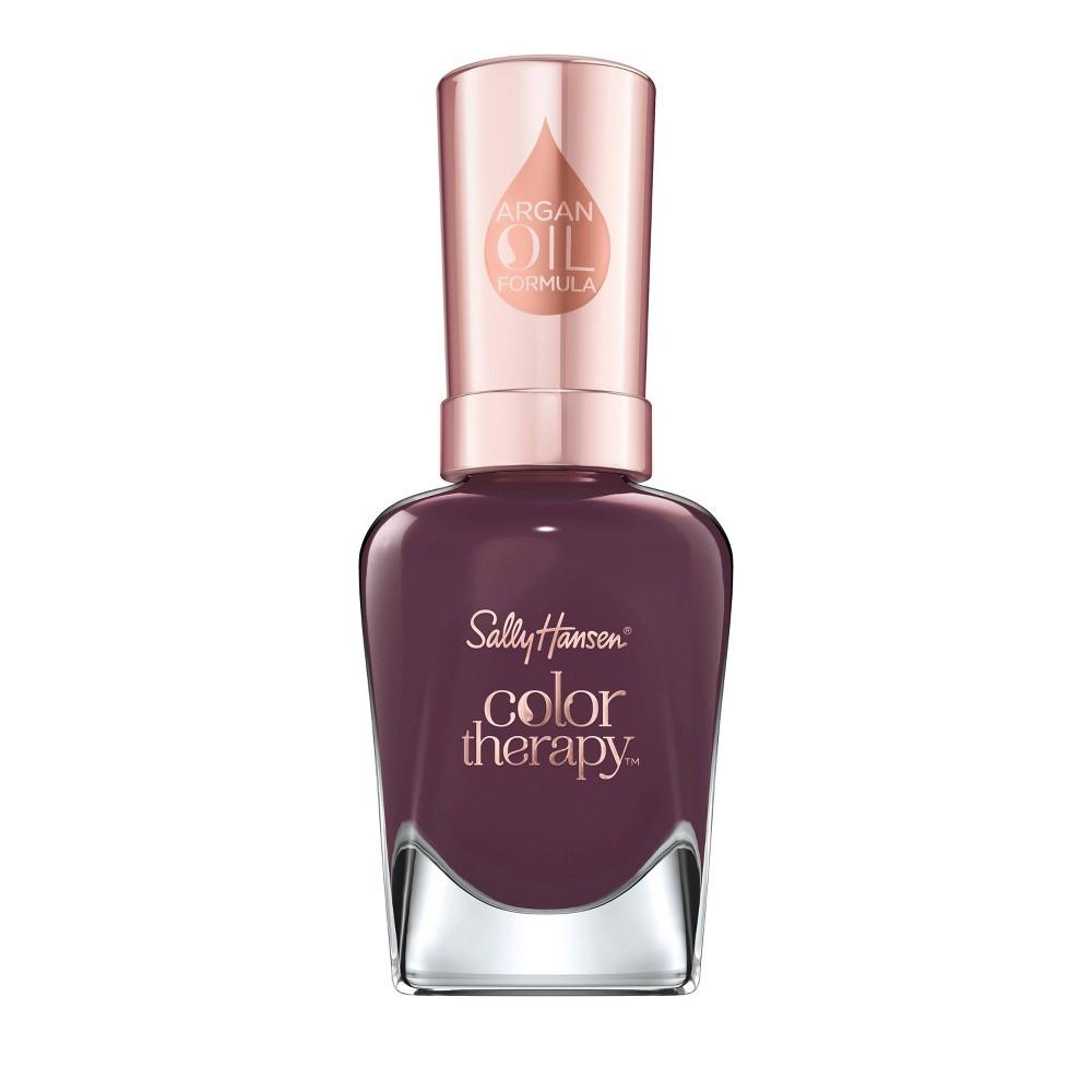 Sally Hansen Color Therapy Nail Polish - 400 Exotic Acai - 0.5 fl oz