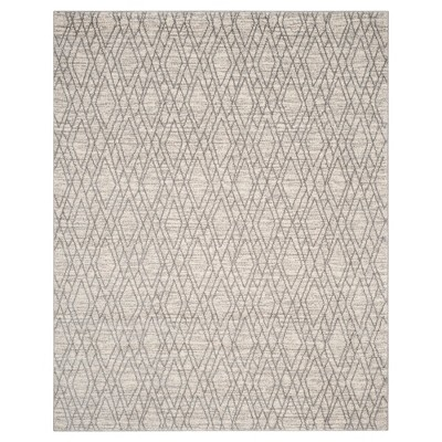 Ivory/Light Gray Abstract Tufted Area Rug - (8'X10')- Safavieh