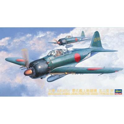 Hasegawa 09072 Mitsubishi A6M5C Zero Fighter Type 52 Hei 1/48 Scale Model Kit