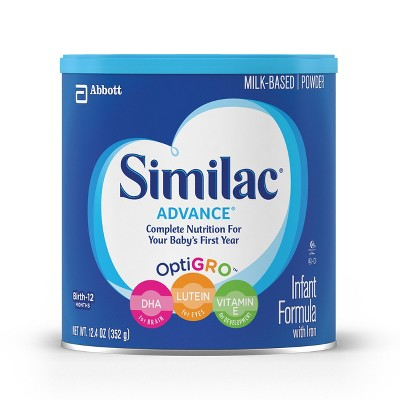Similac® Advance Complete Nutrition Stage 1 Infant Formula Powder - 12.4oz