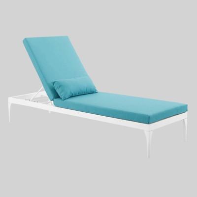 Sensational Perspective Cushion Outdoor Patio Chaise Lounge Chair Machost Co Dining Chair Design Ideas Machostcouk