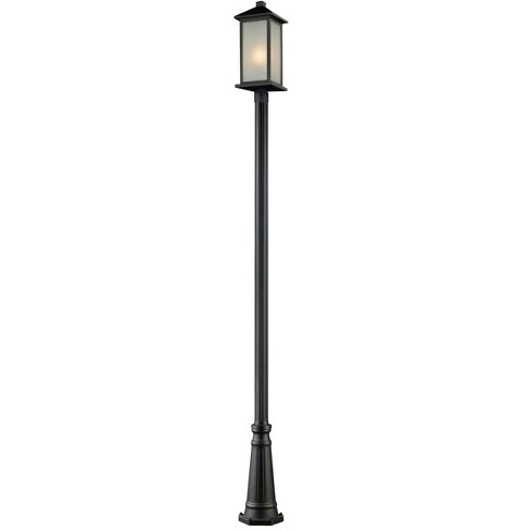 Z-Lite 547PHBR-519P Vienna 1 Light Outdoor Post Light - image 1 of 1