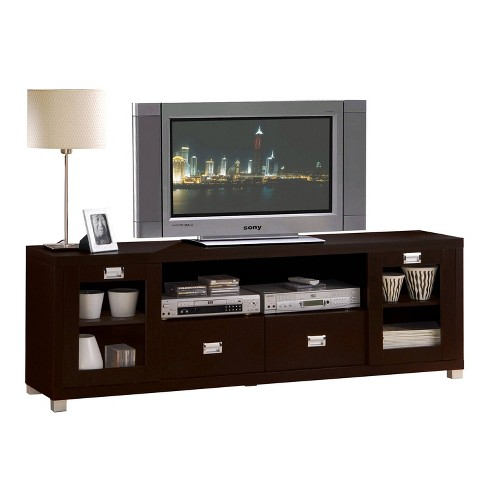 Commerce TV Stand Espresso Brown - Acme - image 1 of 2