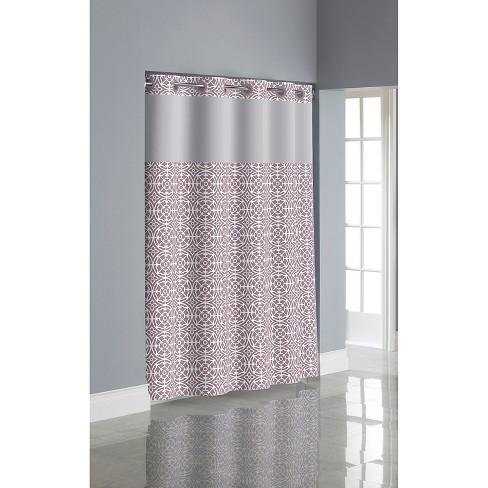 Medallion Hookless Shower Curtain