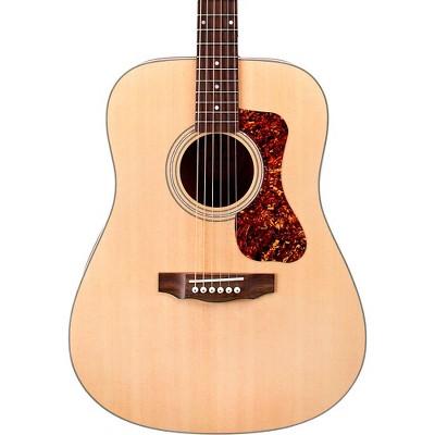 Guild D-240E Flamed Mahogany Dreadnought Acoustic-Electric Guitar Natural