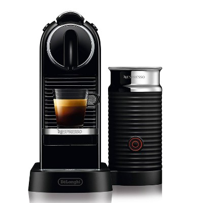 Nespresso Citiz & Milk Espresso Maker Black by DeLonghi