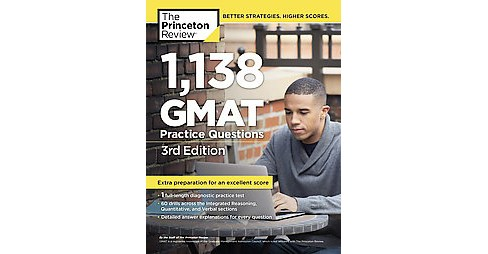 Princeton Review 1,138 GMAT Practice Questions (Paperback) - image 1 of 1