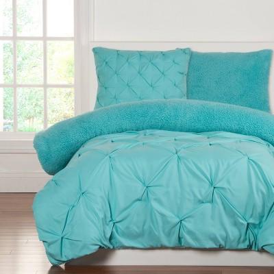 2pc Twin Crayola Playful Plush Green Comforter Set