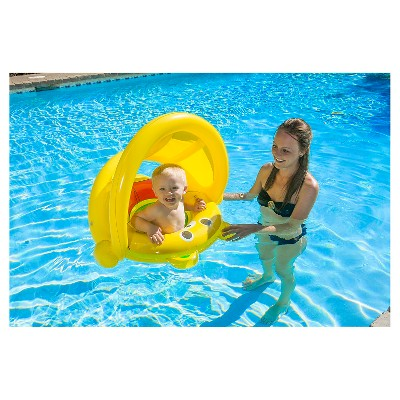 Poolmaster Baby Bear Rider - Yellow