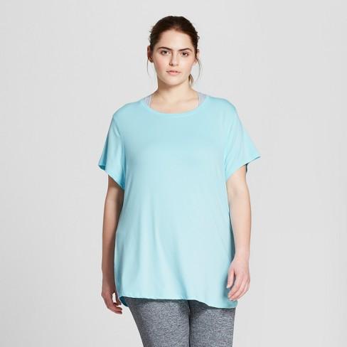 42e90ee553efe Women s Plus-Size Soft Tech T-Shirt - C9 Champion...   Target