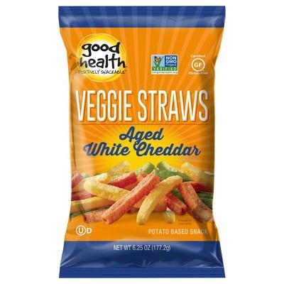Good Health White Cheddar Veggie Straws - 6.25oz