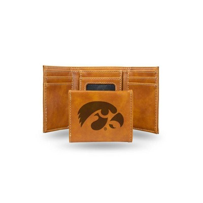 Auburn Tigers NCAA Rico Industries  Laser Engraved Trifold Wallet