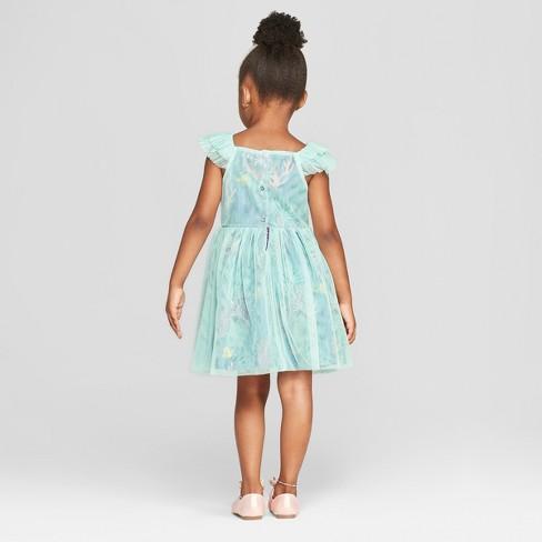 0051d15b237 Toddler Girls  Disney Princess Ariel Dress - Aqua Blue   Target