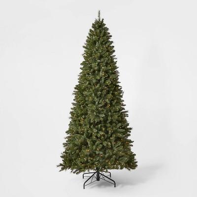 10.5ft Pre-lit Full Douglas Fir Artificial Christmas Tree Clear Lights with AutoConnect - Wondershop™