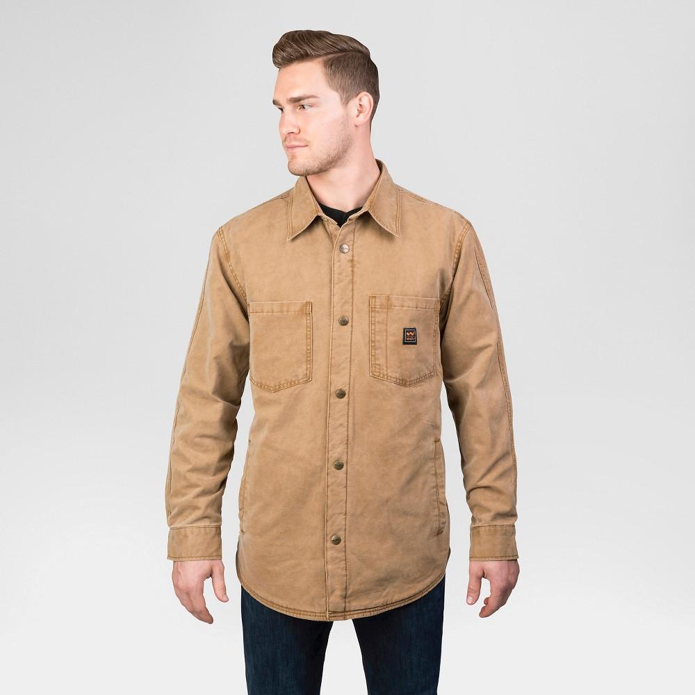 Walls Vintage Men's Tall Duck Shirt Jacket - Washed Pecan Xlt