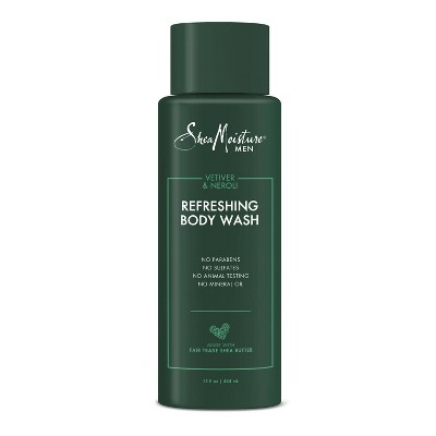 SheaMoisture Refreshing Body Wash Neroli & Vetiver - 15 fl oz