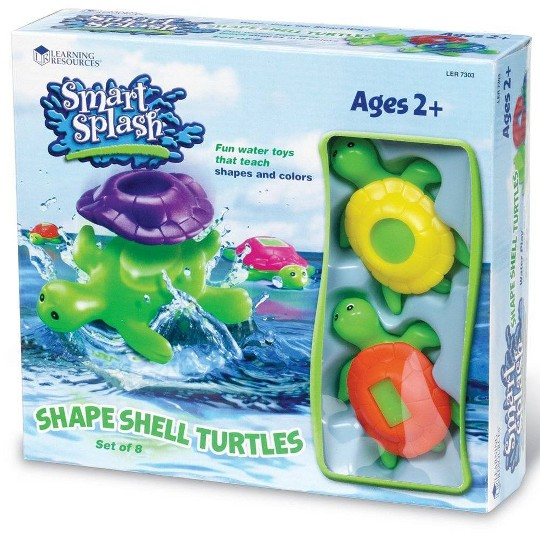 Learning Resources Shape Shell Turtles image number null