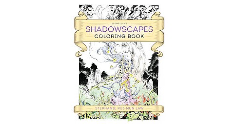 Llewellyn's Shadowscapes Adult Coloring Book - image 1 of 1